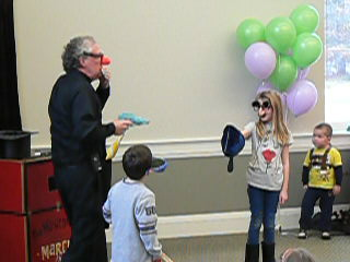 Library Magic Show